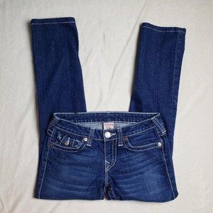 True Religion Billy Straight Leg Flap Pocket Jeans